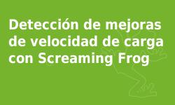 Curso Screaming Frog - Detección de mejoras de velocidad de carga